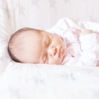 light and airy newborn photographs