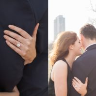 perfect Chicago engagement photos