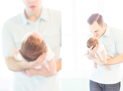 casual newborn photographs in Naperville