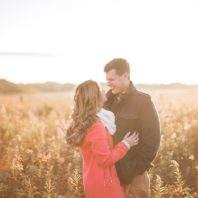 natural light engagement photographs in Chicago